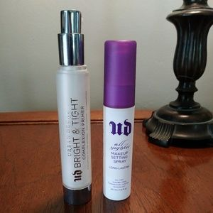 Urban Decay primer and setting spray